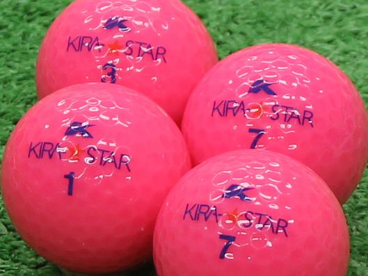【Aランク】Kasco(キャスコ) KIRA★STAR ピンク 2010年モデル 1個