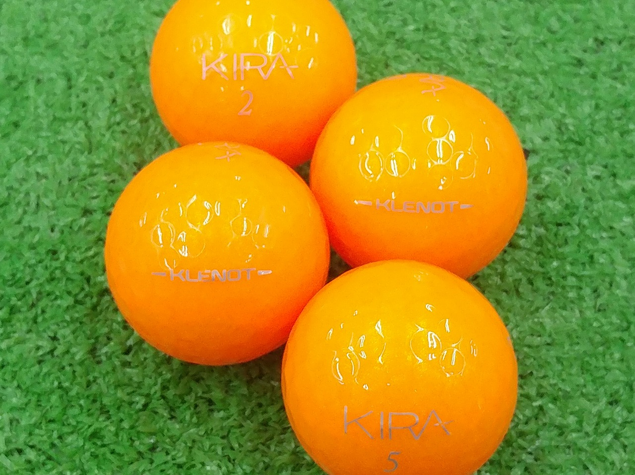 【Aランク】Kasco(キャスコ) KIRA KLENOT オレンジトパーズ 2016年モデル 1個