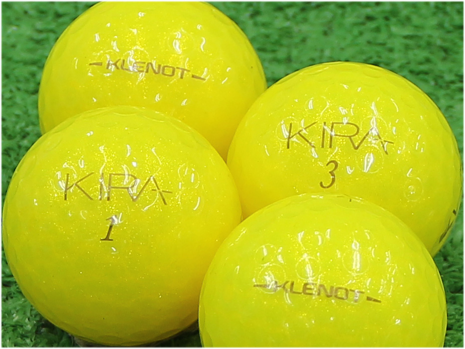 【Aランク】Kasco(キャスコ) KIRA KLENOT イエローダイヤモンド 2014年モデル 1個