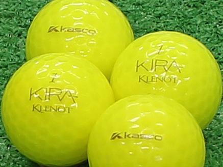 【Aランク】Kasco(キャスコ) KIRA KLENOT イエローダイヤモンド 2011年モデル 1個