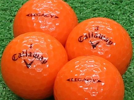 【Aランク】Callaway(キャロウェイ) LEGACY スパークリングオレンジ 2012年モデル 1個