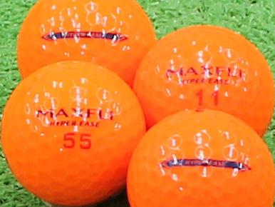 【Aランク】MAXFLI HYPER EASE オレンジ 1個