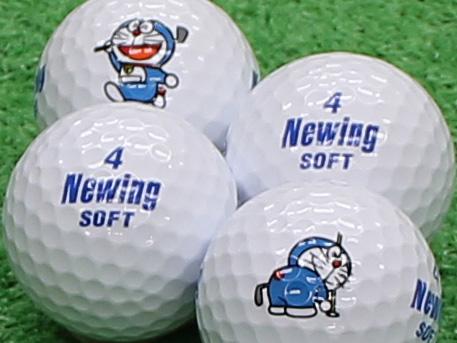 【Aランク】Newing(ニューイング) SOFT ホワイト ドラえもんロゴ 1個