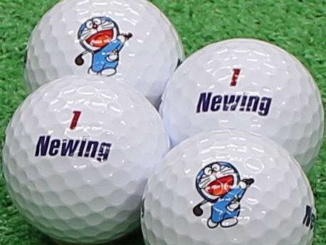 【Aランク】Newing(ニューイング) SUPER SOFT FEEL ホワイト ドラえもんロゴ 1個
