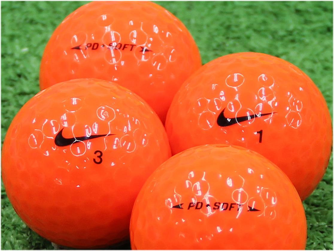 【Aランク】NIKE(ナイキ) PD◆SOFT オレンジ 2015年モデル 1個