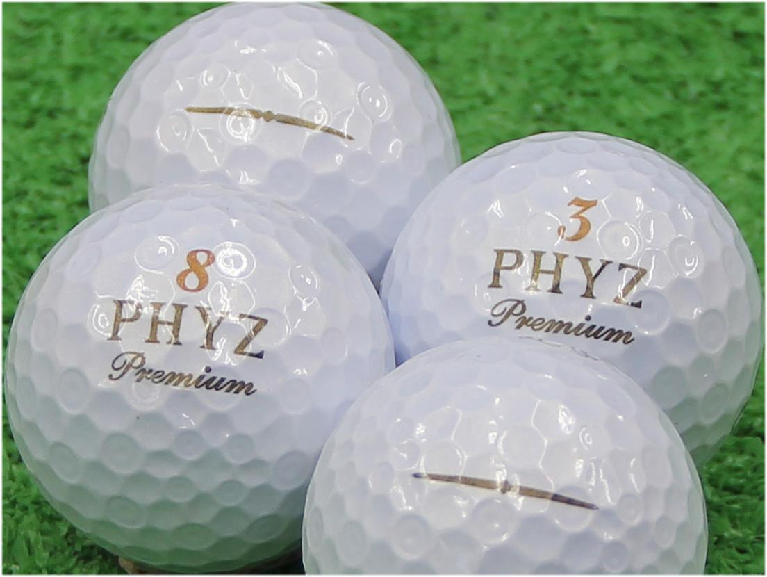【Aランク】BRIDGESTONE GOLF(ブリヂストン) PHYZ Premium ゴールドパール 2014年モデル 1個
