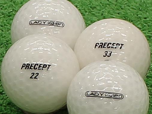 【Aランク】PRECEPT LADY iQ 180 クリアホワイト 1個