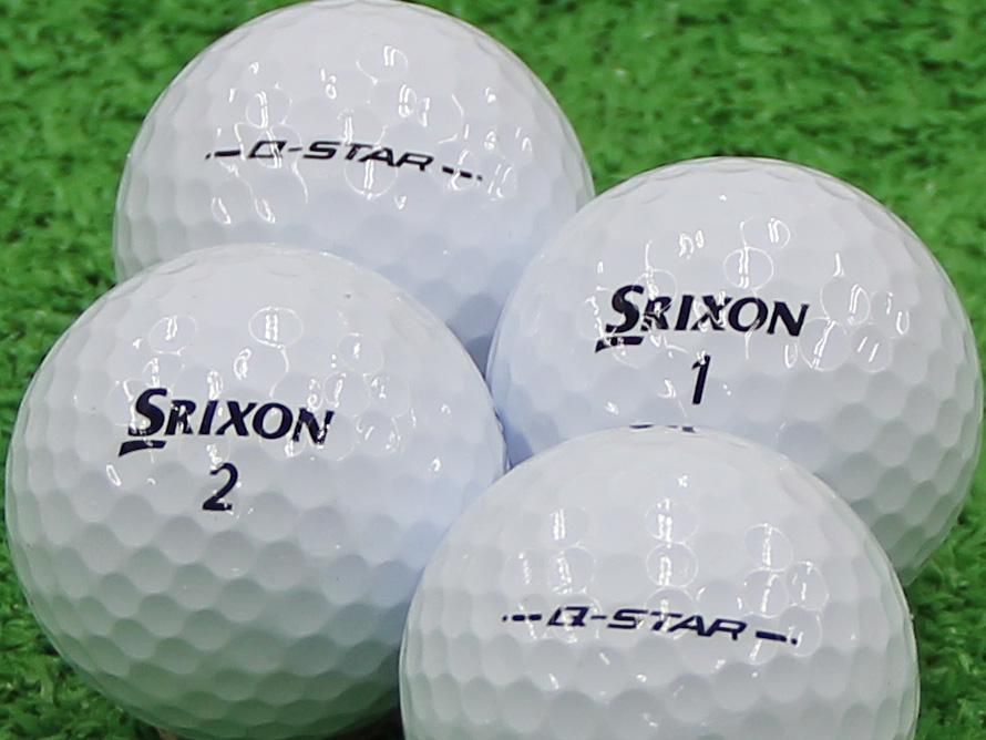 【Aランク】SRIXON(スリクソン) Q-STAR ピュアホワイト 2013年モデル 1個