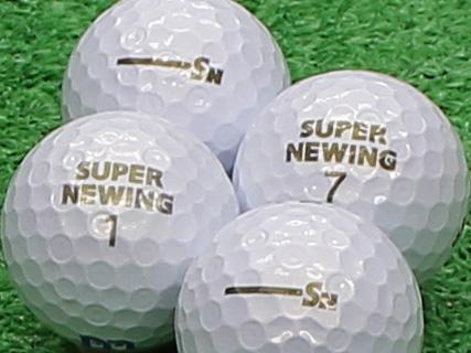 【Aランク】SUPER NEWING(スーパーニューイング) 2011年モデル パールホワイト 1個