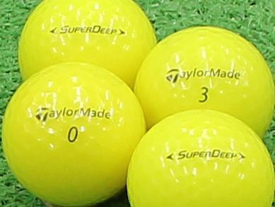 【Aランク】Taylor Made(テーラーメイド) SUPER DEEP イエロー 2013年モデル 1個