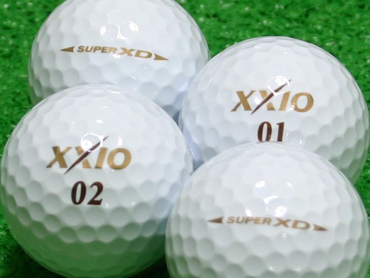 【Aランク】XXIO(ゼクシオ) SUPER XD ゴールド 1個