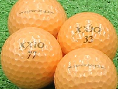 【Aランク】XXIO(ゼクシオ) SUPER XD プレミアムオレンジ 1個