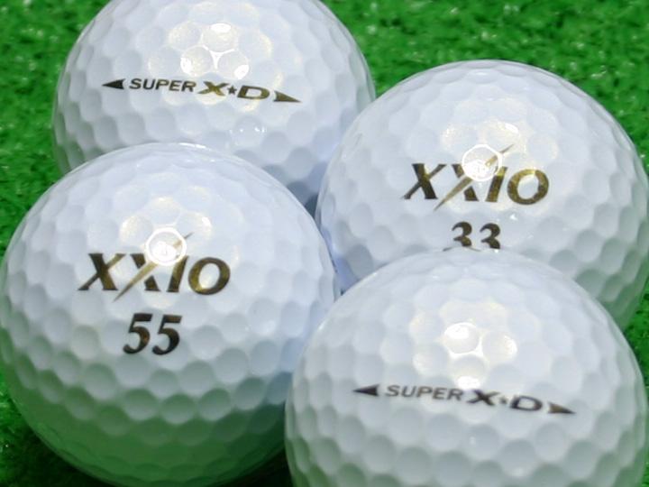 【Aランク】XXIO(ゼクシオ) SUPER XD プレミアムホワイト 1個
