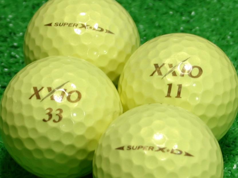 【Aランク】XXIO(ゼクシオ) SUPER XD プレミアムイエロー 1個