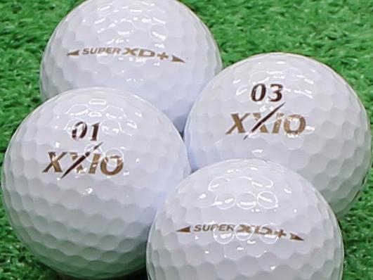【Aランク】XXIO(ゼクシオ) SUPER XD PLUS ゴールド 1個