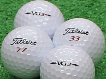 【Aランク】Titleist(タイトリスト) VG3 レインボーパール 2012年モデル 1個