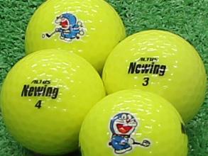 【Aランク】Newing(ニューイング) ビビッドニューイング ビビッドイエロー ドラえもんロゴ 1個