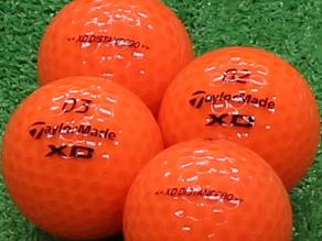 【Aランク】Taylor Made(テーラーメイド) XD DISTANCE80 オレンジ 1個