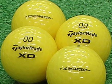【Aランク】Taylor Made(テーラーメイド) XD DISTANCE60 イエロー 1個