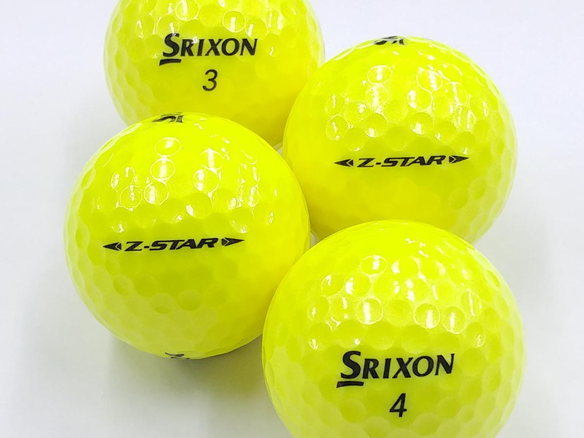 【Aランク】SRIXON(スリクソン) Z-STAR パッションイエロー 2019年モデル 1個