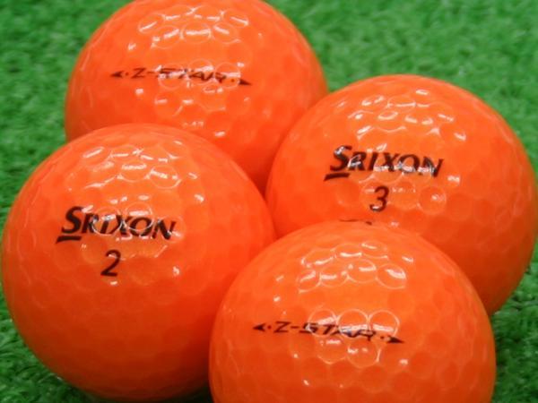 【Aランク】SRIXON(スリクソン) Z-STAR プレミアムパッションオレンジ 2011年モデル 1個