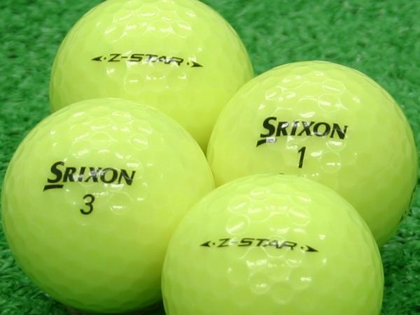 【Aランク】SRIXON(スリクソン) Z-STAR プレミアムパッションイエロー 2011年モデル 1個