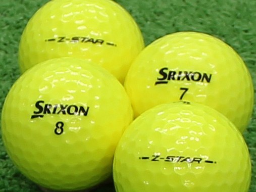 【Aランク】SRIXON(スリクソン) Z-STAR プレミアムパッションイエロー 2013年モデル 1個
