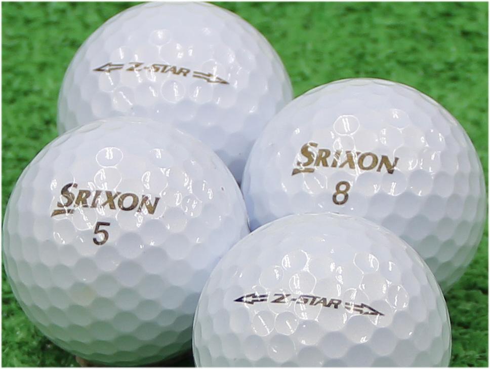 【Aランク】SRIXON(スリクソン) Z-STAR プレミアムホワイト 2015年モデル 1個
