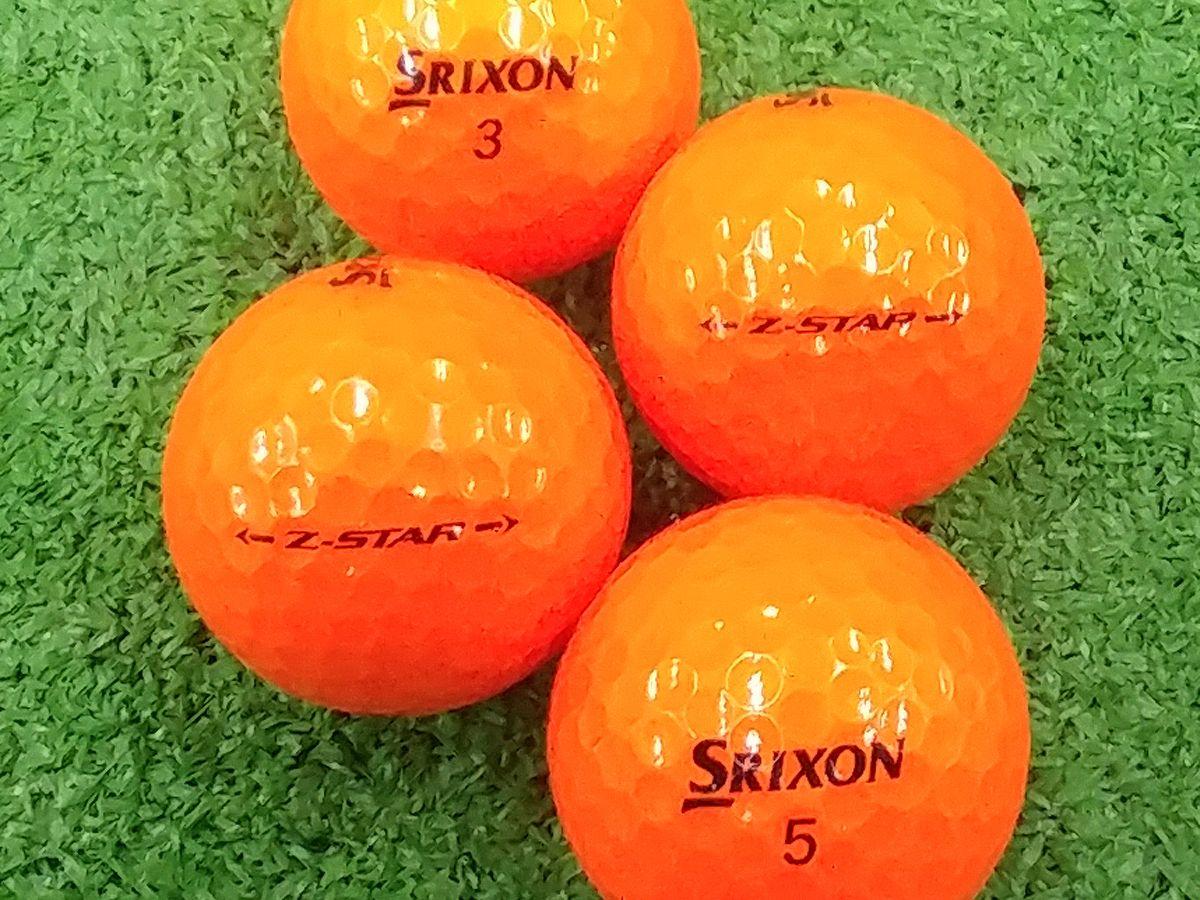 【Aランク】SRIXON(スリクソン) Z-STAR プレミアムパッションオレンジ 2017年モデル 1個