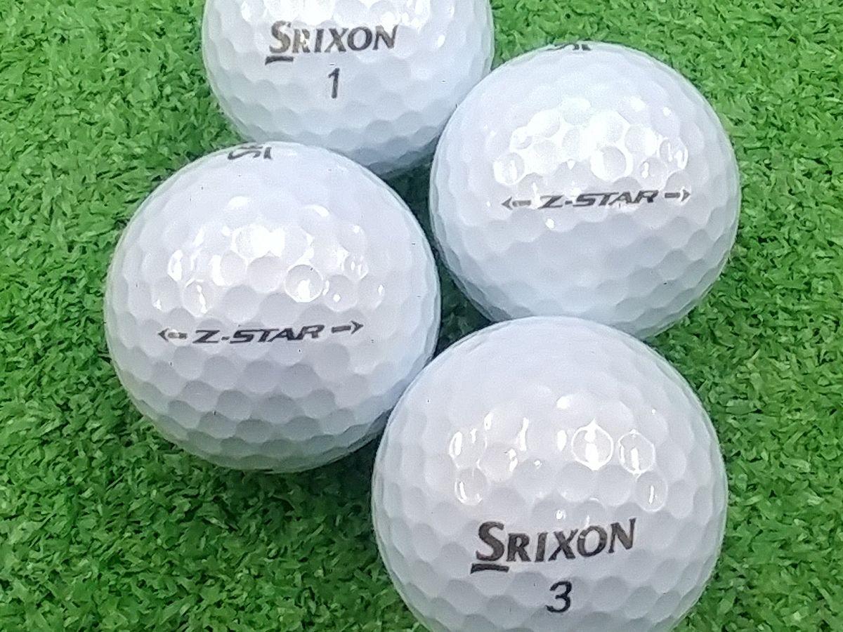 【Aランク】SRIXON(スリクソン) Z-STAR プレミアムホワイト 2017年モデル 1個