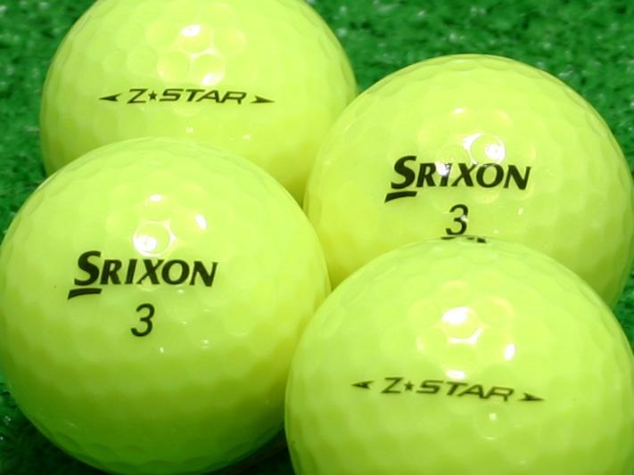 【Aランク】SRIXON(スリクソン) Z-STAR パッションイエロー 2009年モデル 1個