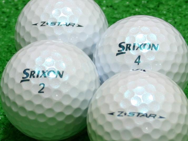 【Aランク】SRIXON(スリクソン) Z-STAR ロイヤルグリーン 2009年モデル 1個