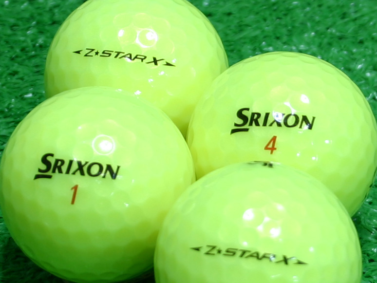 【Aランク】SRIXON(スリクソン) Z-STAR X パッションイエロー 1個