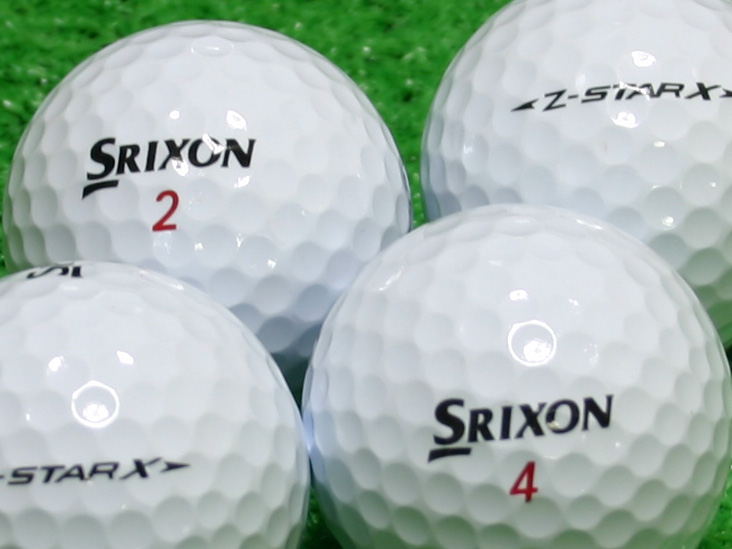 【Aランク】SRIXON(スリクソン) Z-STAR X ホワイト 1個