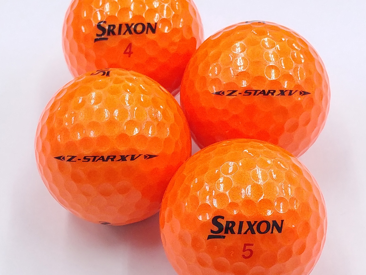 【Aランク】SRIXON(スリクソン) Z-STAR XV プレミアムパッションオレンジ 2019年モデル 1個