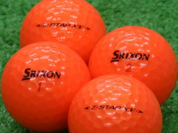 【Aランク】SRIXON(スリクソン) Z-STAR XV プレミアムパッションオレンジ 2011年モデル 1個