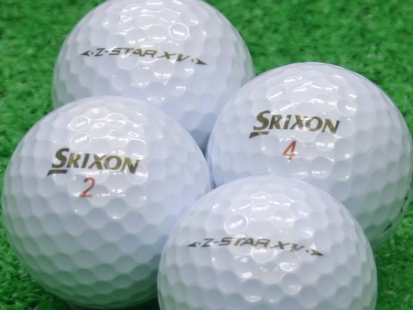 【Aランク】SRIXON(スリクソン) Z-STAR XV プレミアムホワイト 2011年モデル 1個