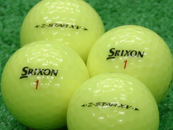 【Aランク】SRIXON(スリクソン) Z-STAR XV プレミアムパッションイエロー 2011年モデル 1個