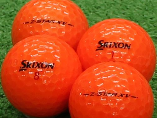 【Aランク】SRIXON(スリクソン) Z-STAR XV プレミアムパッションオレンジ 2013年モデル 1個