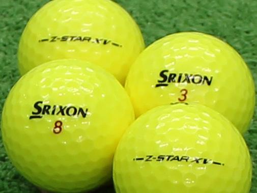 【Aランク】SRIXON(スリクソン) Z-STAR XV プレミアムパッションイエロー 2013年モデル 1個