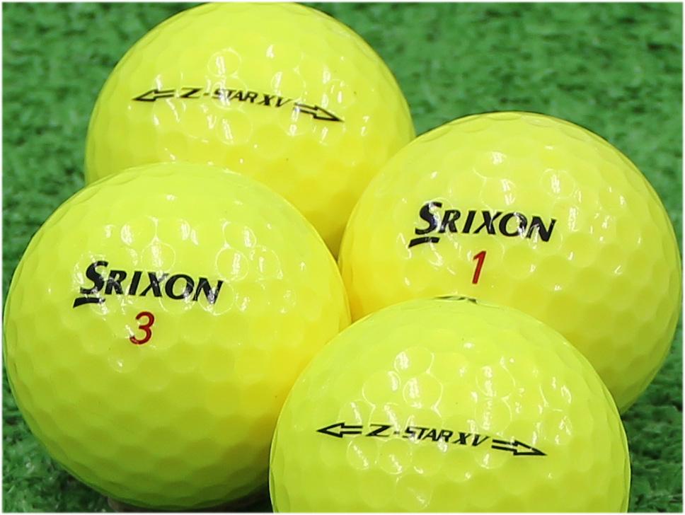 【Aランク】SRIXON(スリクソン) Z-STAR XV プレミアムパッションイエロー 2015年モデル 1個