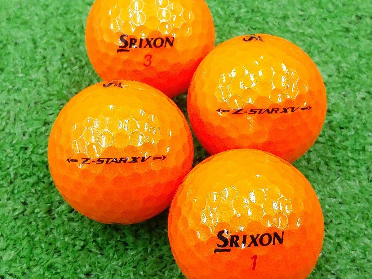 【Aランク】SRIXON(スリクソン) Z-STAR XV プレミアムパッションオレンジ 2017年モデル 1個