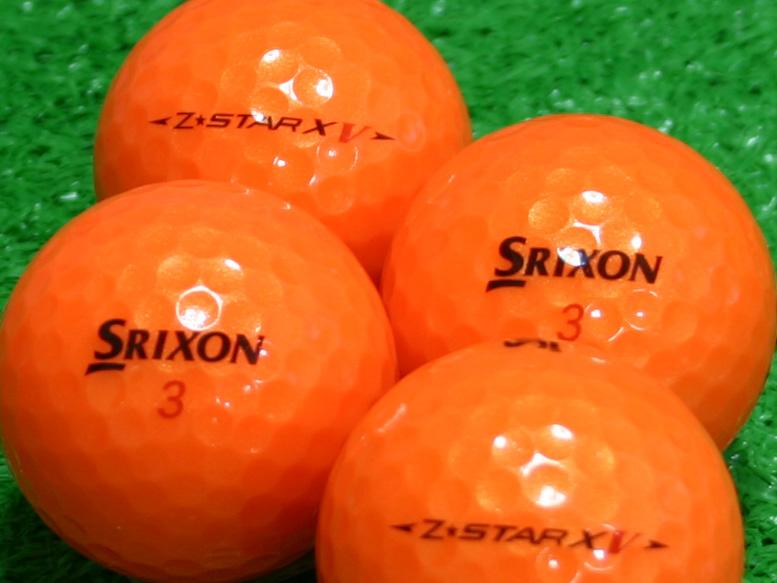 【Aランク】SRIXON(スリクソン) Z-STAR XV パッションオレンジ 2010年モデル 1個