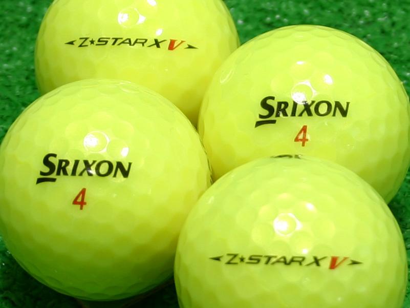 【Aランク】SRIXON(スリクソン) Z-STAR XV パッションイエロー 2010年モデル 1個