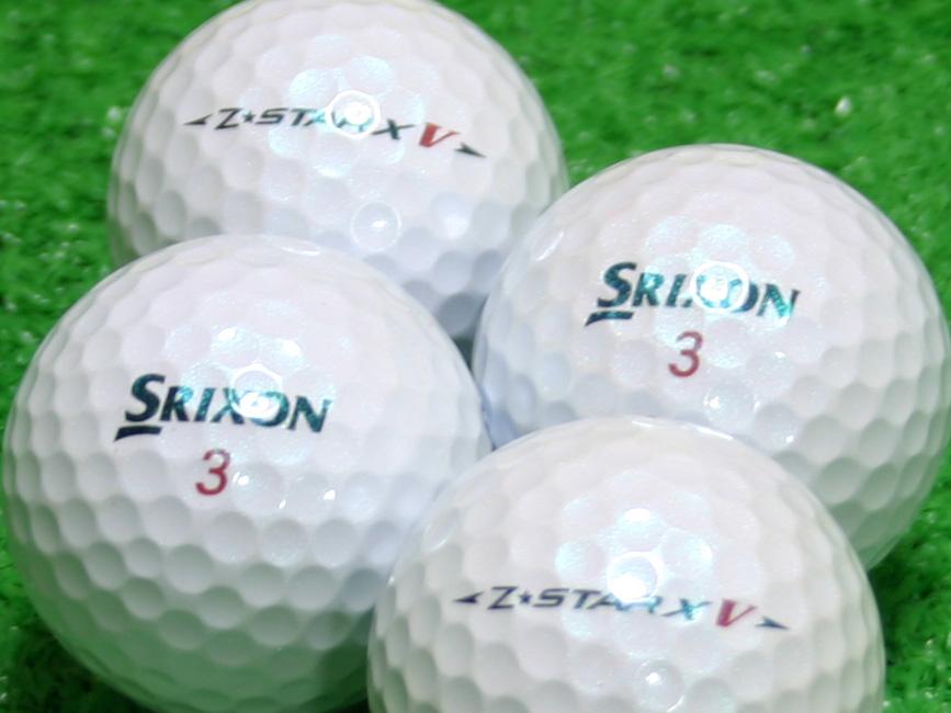 【Aランク】SRIXON(スリクソン) Z-STAR XV ロイヤルグリーン 2010年モデル 1個