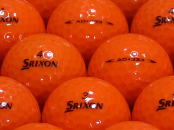 【ABランク】SRIXON(スリクソン) AD333 パッションオレンジ 2009年モデル 1個