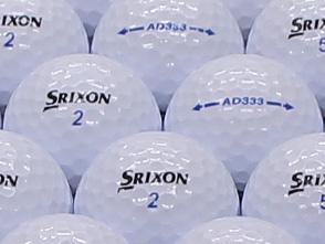 【ABランク】SRIXON(スリクソン) AD333 ホワイト 2011年モデル 1個