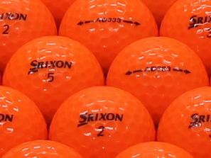 【ABランク】SRIXON(スリクソン) AD333 パッションオレンジ 2011年モデル 1個