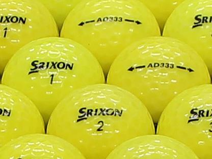【ABランク】SRIXON(スリクソン) AD333 パッションイエロー 2011年モデル 1個