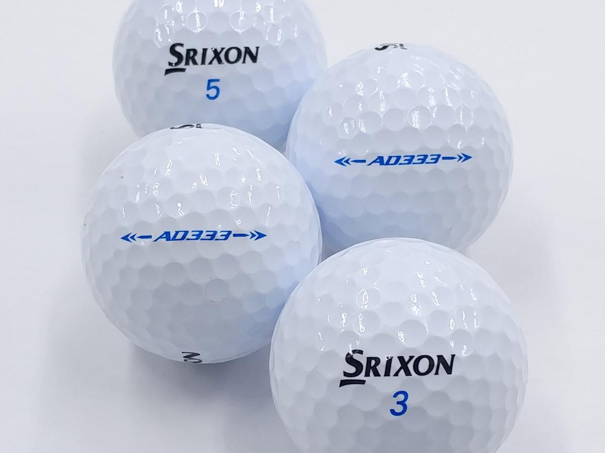 【ABランク】SRIXON(スリクソン) AD333 ホワイト 2018年モデル 1個